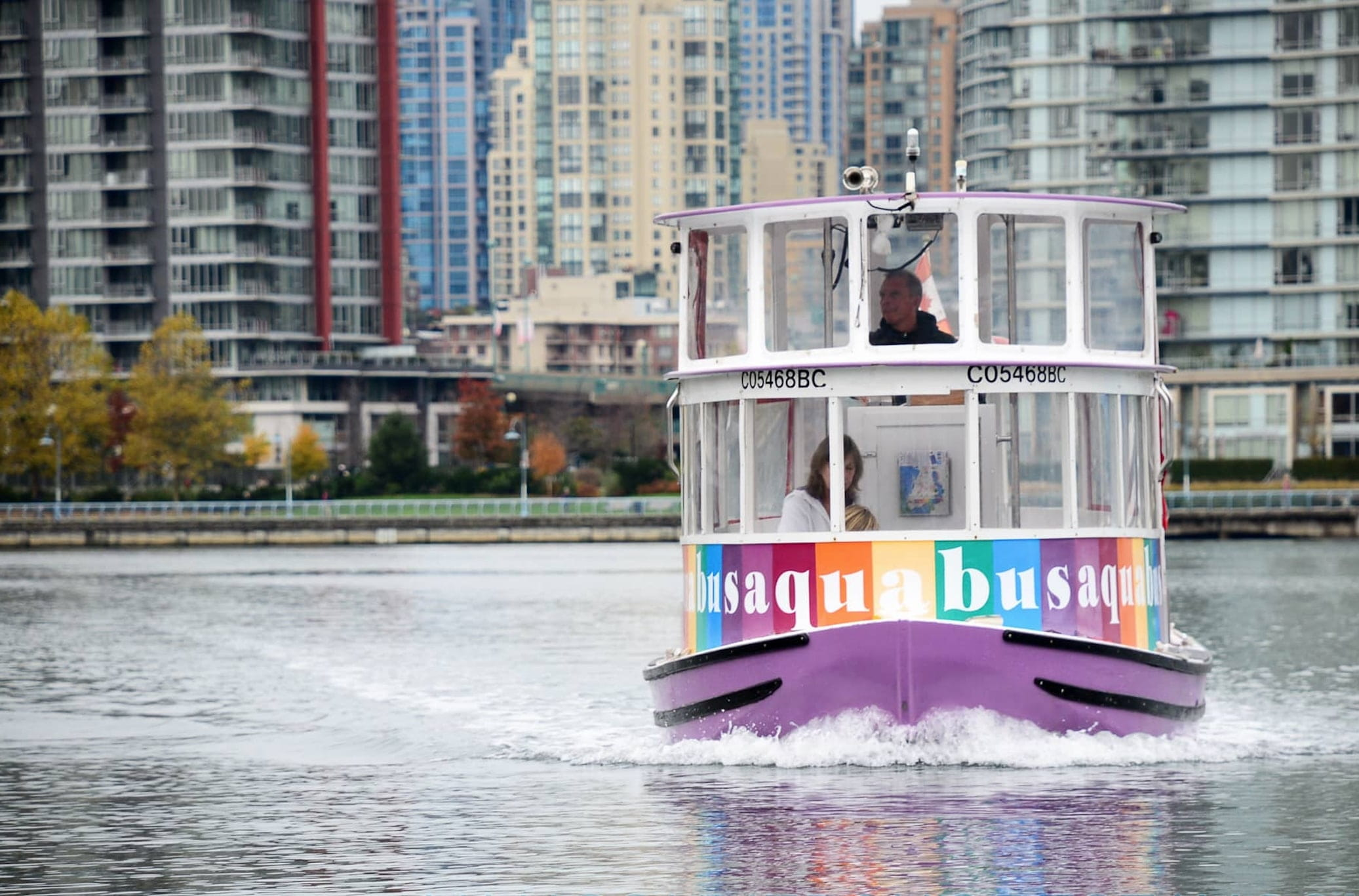 Aquabus in False Creek