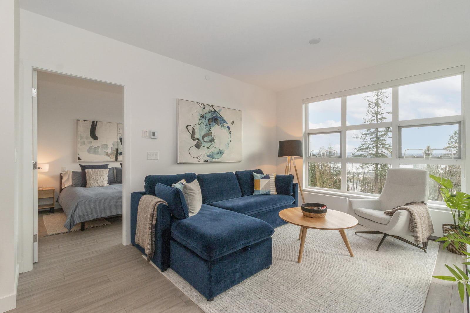 Living Room in Montreal rental
