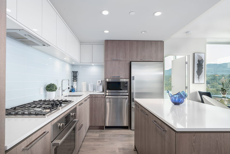 Luxury Kitchen in Vancouvers Suite